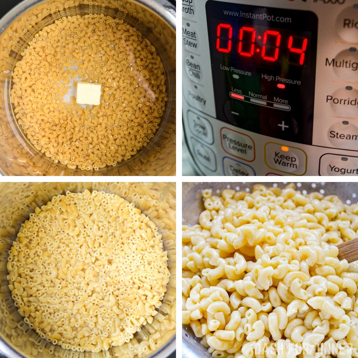 How to make easy mac and cheese in the Instant Pot