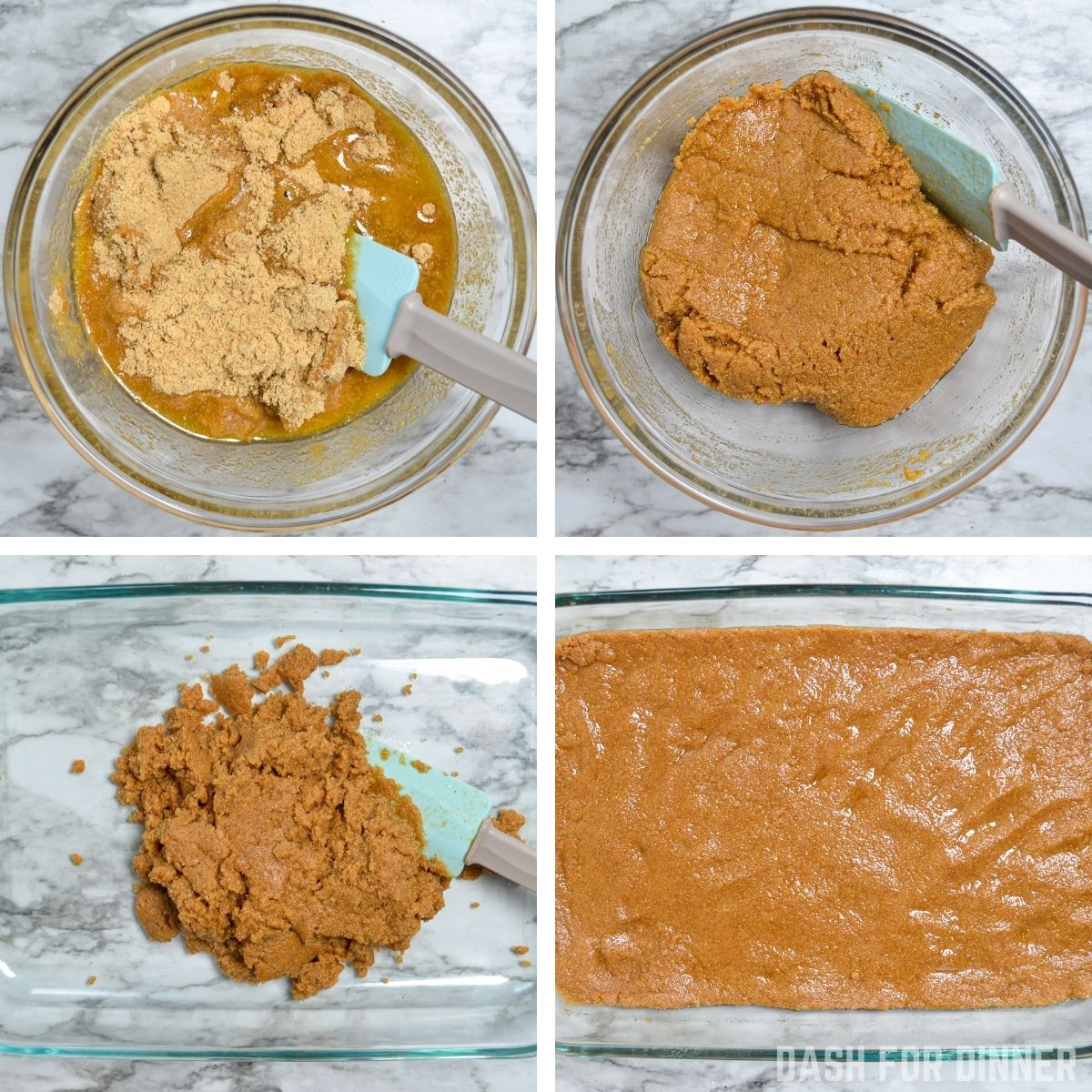 How to make a no bake graham cracker crust.