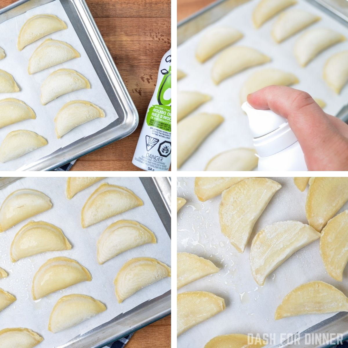 How to make pierogies in an air fryer.