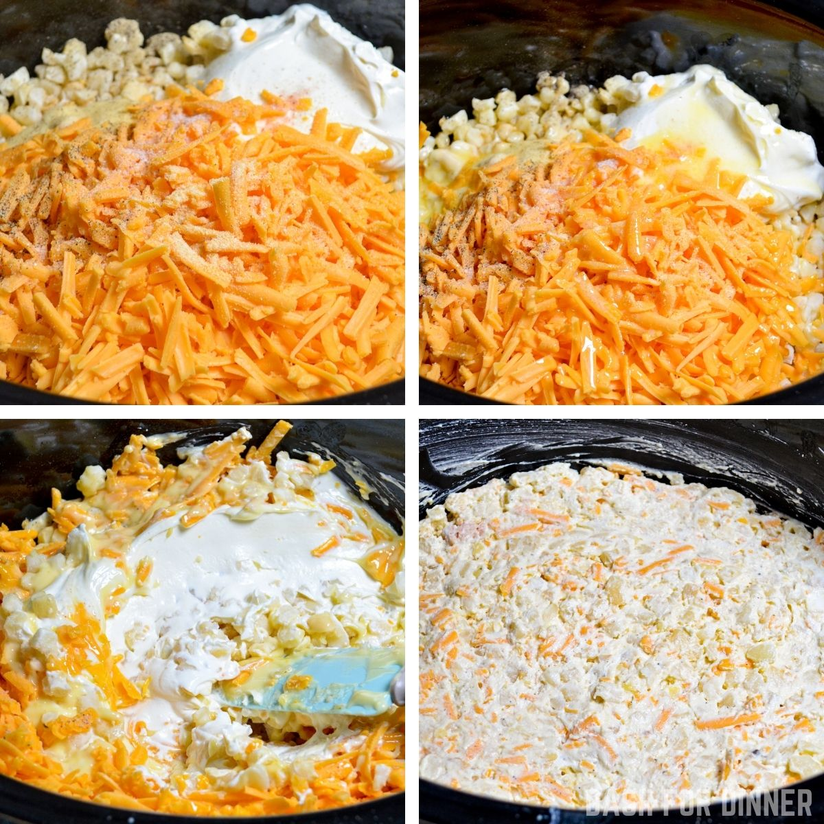 How to make funeral potatoes in the slow cooker.