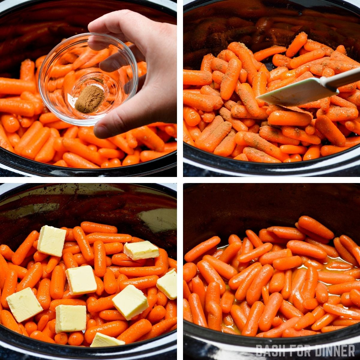 How to make slow cooker glazed carrots